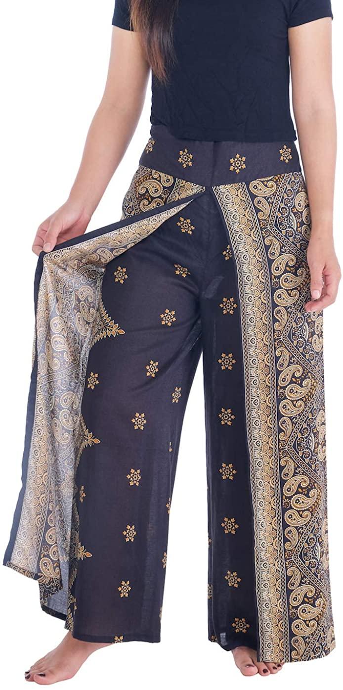 Lannaclothesdesign Womens Wide Leg Trousers Palazzo Pants S M L XL Sizes