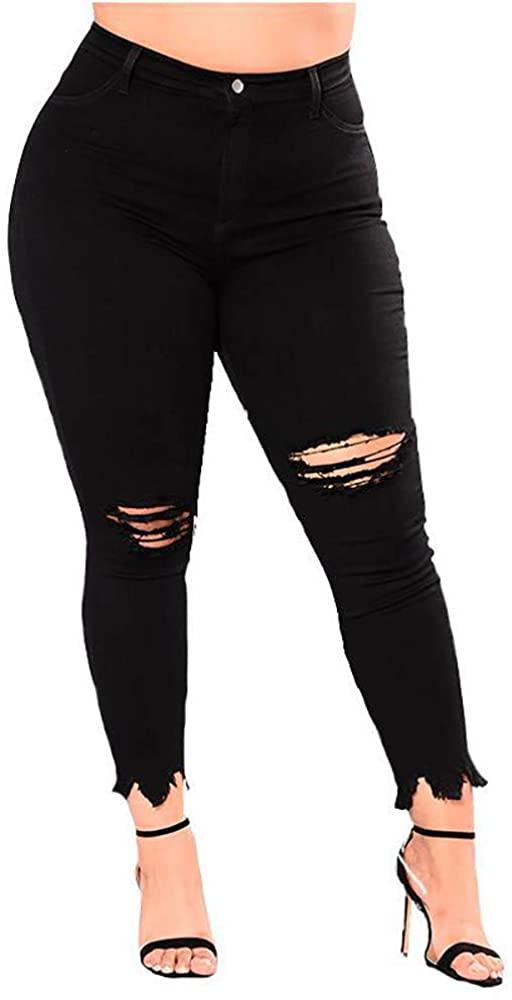 VEFSU Fashion Women Stretch Jeans Female High Waist Stretch Slim Sexy Pencil Pants