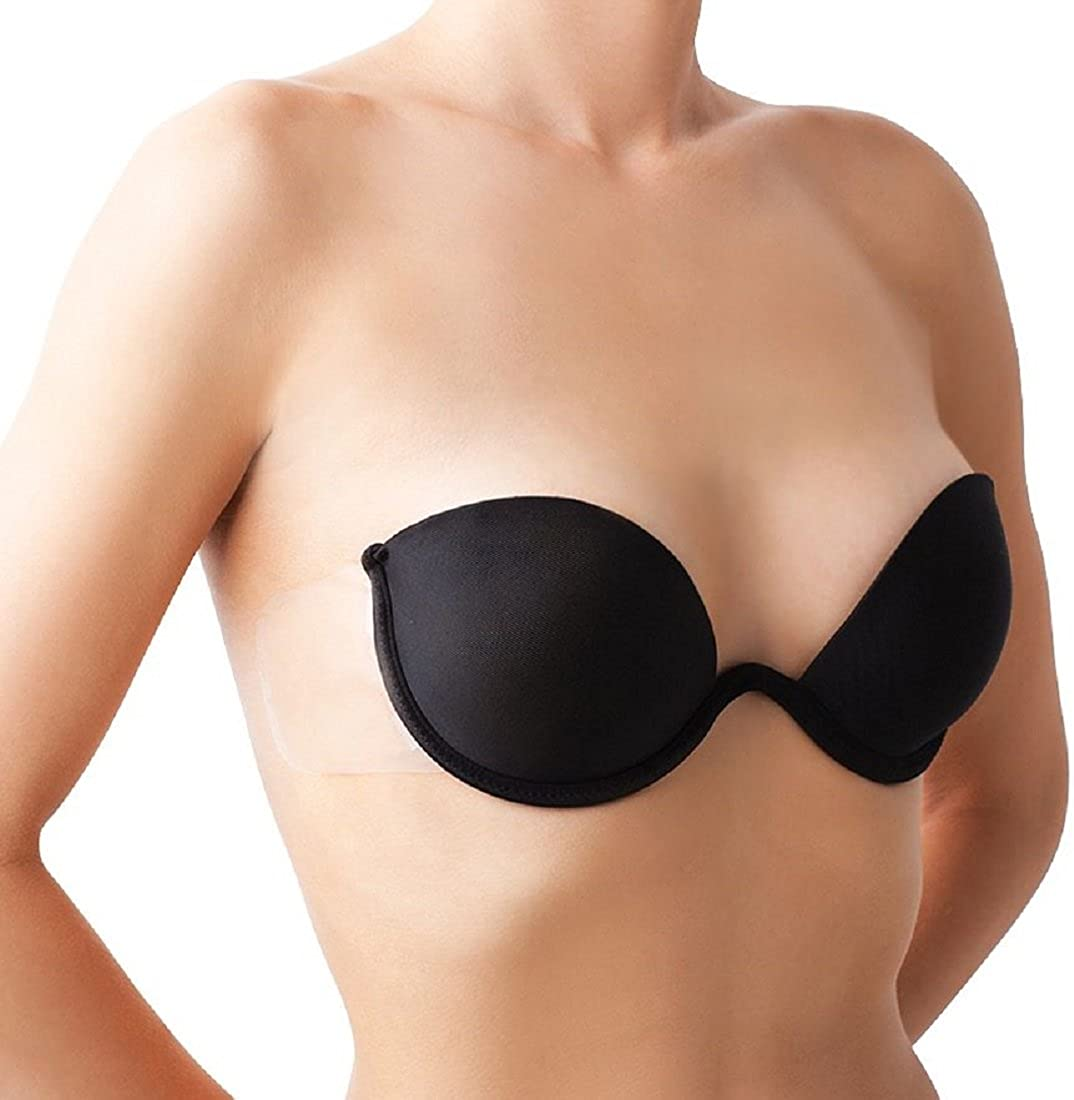 The Natural Push-Up Combo Wing Bra Black-2228