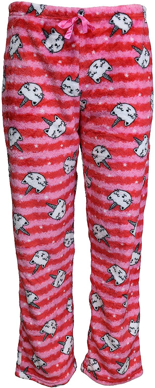 em & alfie Juniors Fuzzy Plush Pajama Pants