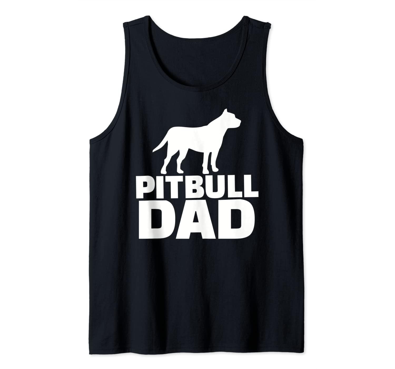 Pitbull Dad Tank Top