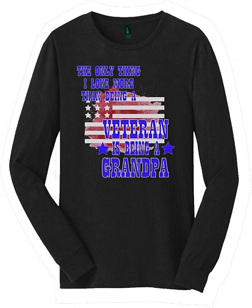 Veteran Grandpa Long Sleeved shirt   Great Veteran Grandpa shirt with a Creative Quote   Cool shirt for Veteran Grandpa