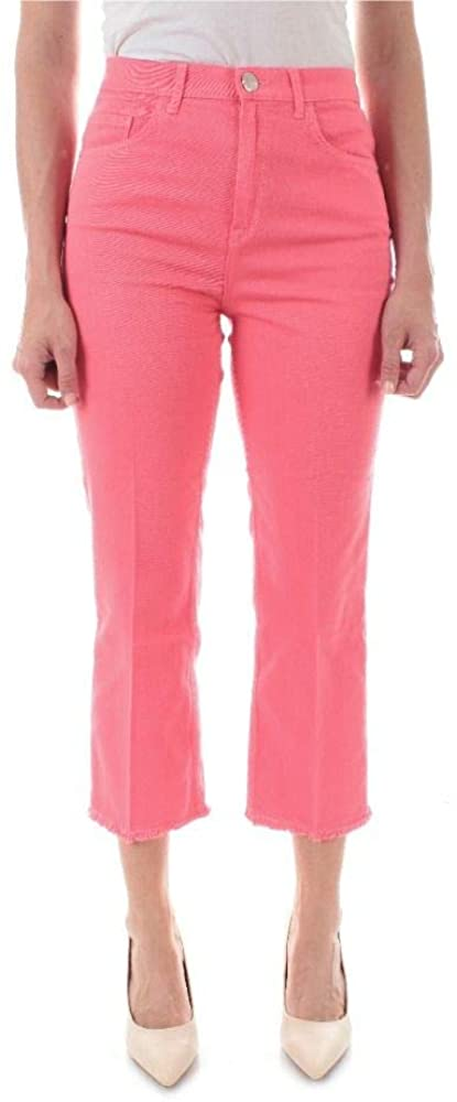 Pinko Luxury Fashion Woman 1J10DNY62N57 Pink Cotton Jeans   Spring Summer 20