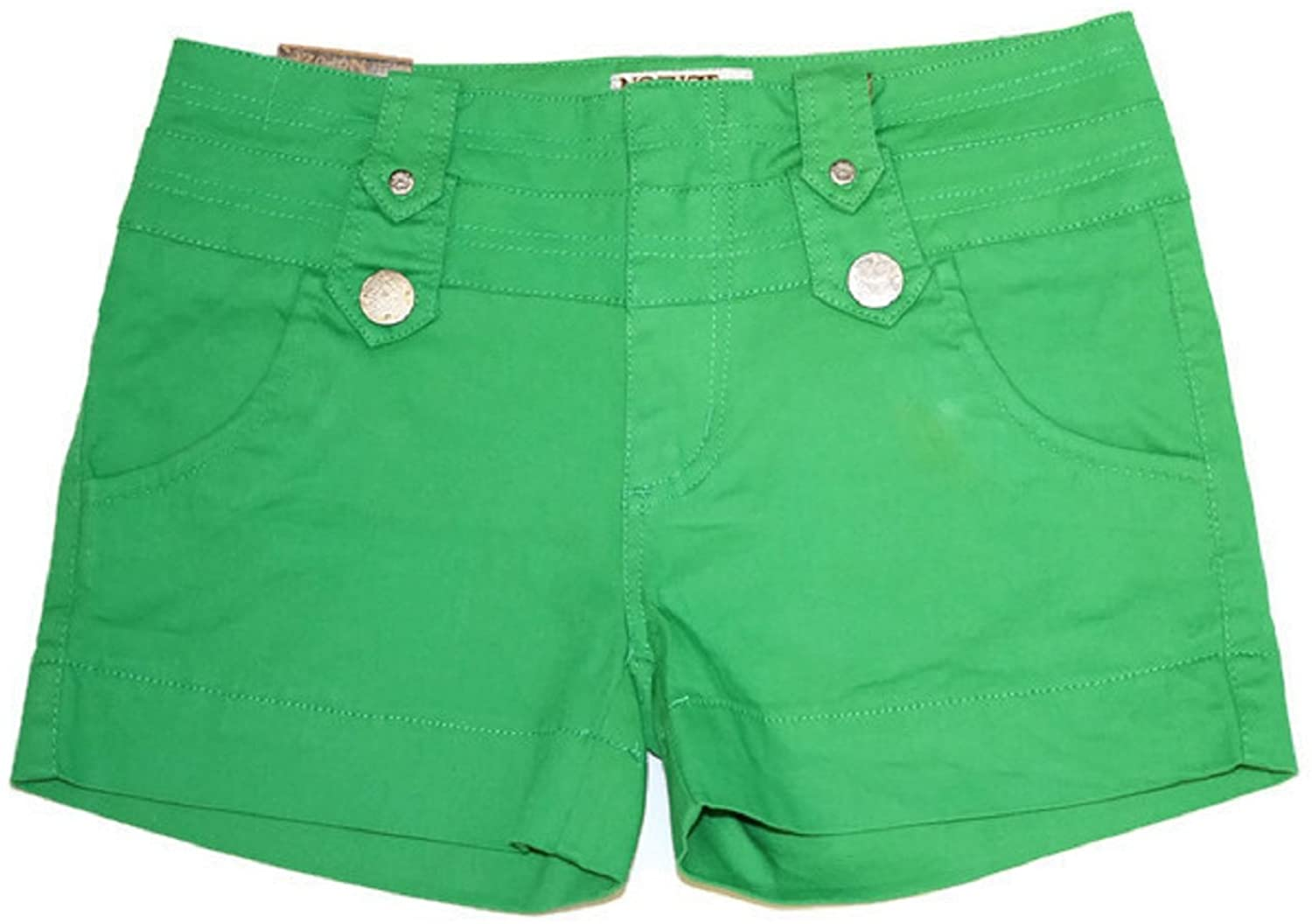 No Fuze NoFuze Twill Junior Shorts Stretch 2.5 inches Inseam