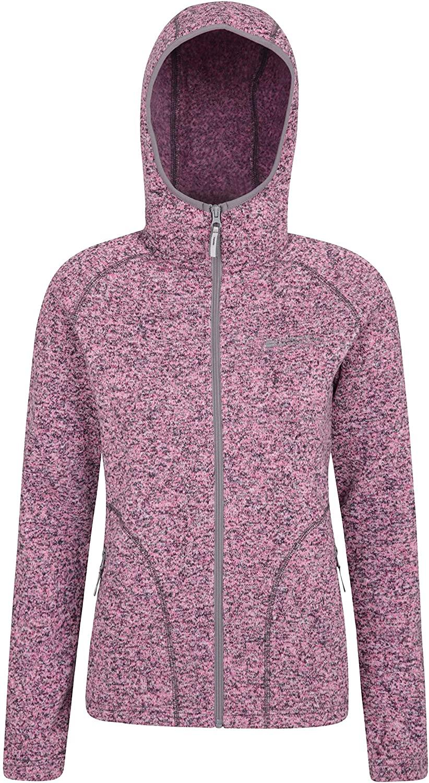Mountain Warehouse Nevis Womens Fleece Jacket - Full Zip Autumn Coat