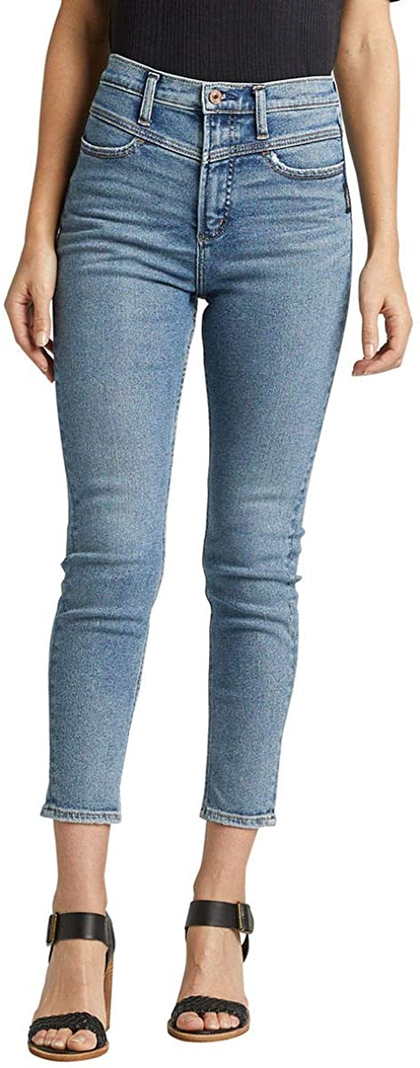 Silver Jeans Co. Women's Ode to 80's High Rise Skinny