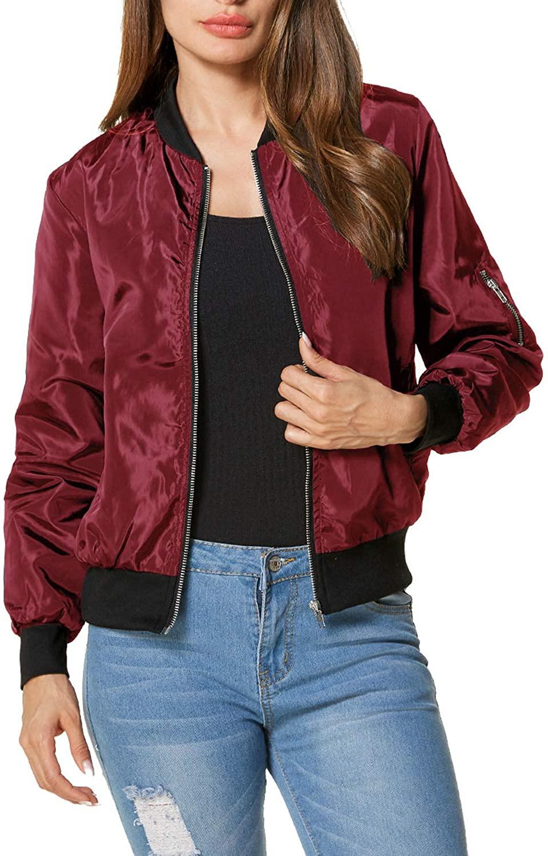 ZANZEA Women Jackets Short Biker Bomber Classic Quilted Coat Outdoor Hoodies Windbreaker