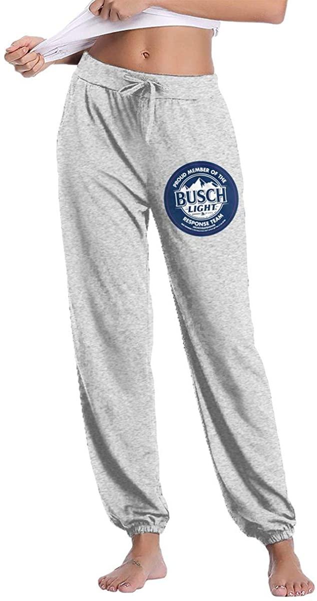 NOT Busch Light Funny Sports Breathable Women's Long Pants Sleep Pants Sweatpants