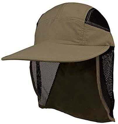 Mega Cap UV 50+ Sun Protection Outdoor Flap Hat Cap