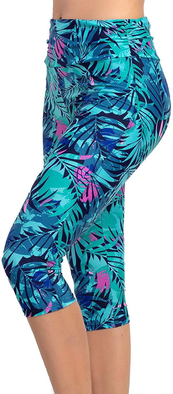KEEPRONE Women's Swim Pants, UPF 50+ High Waisted Swimming Leggings, Water Tights Outdoor Indoor Sportwear