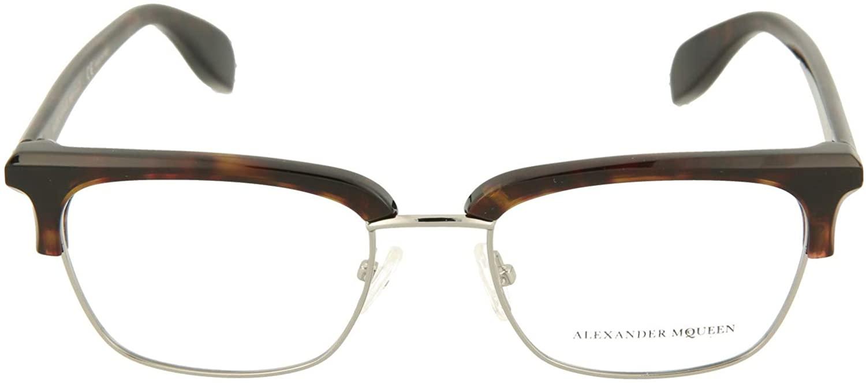 Alexander McQueen AM0044O Burgundy/Clear One Size