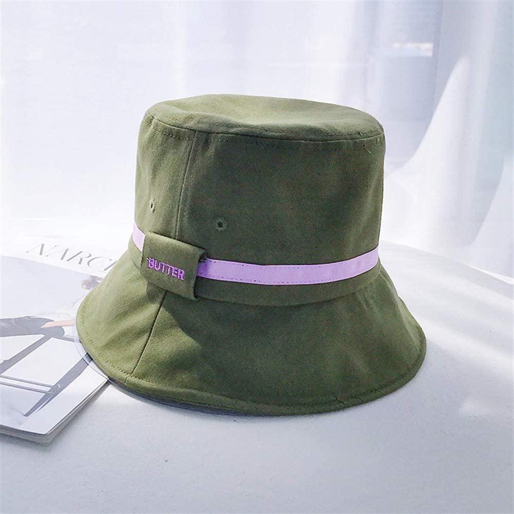 MADONG Fisherman hat Female Summer Influx of Korean ins Japanese hit Color Cotton Women Harajuku Wild Sun hat Hip-hop hat