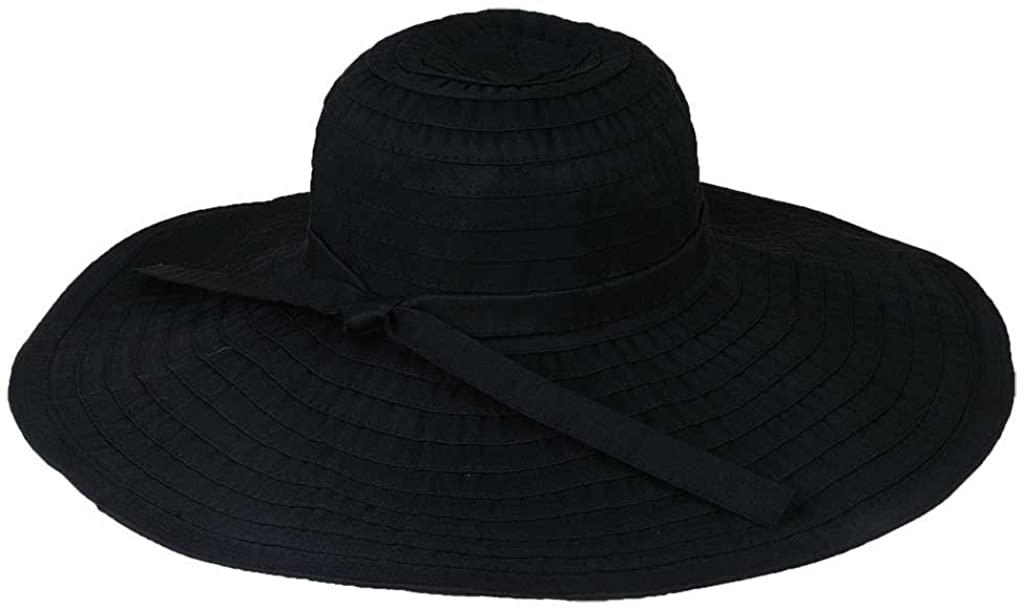 hat.a.girl Ribbon Crusher Travel Hat 5 inch Brim - HS358