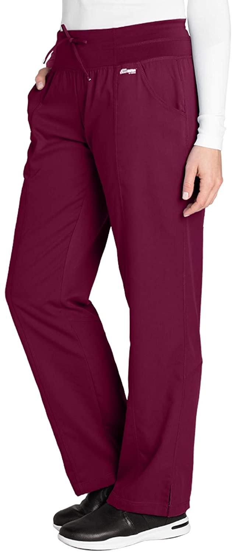 Grey's Anatomy Active 4276 Yoga Pant Wine M Tall