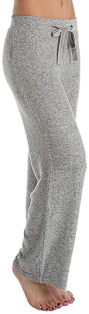 LA CERA Womens Comfort Wide Leg Pant 7573 3X Grey