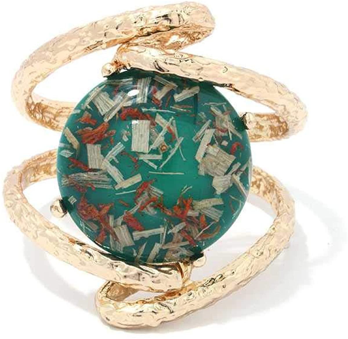 Shop & Buy Round Metal Cuff Bracelet