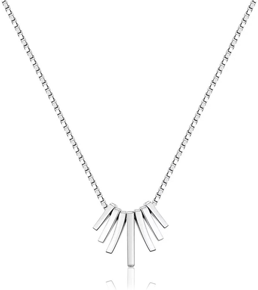 Dainty Choker Necklace Fashion Simple Unique Pendant Necklace for Women