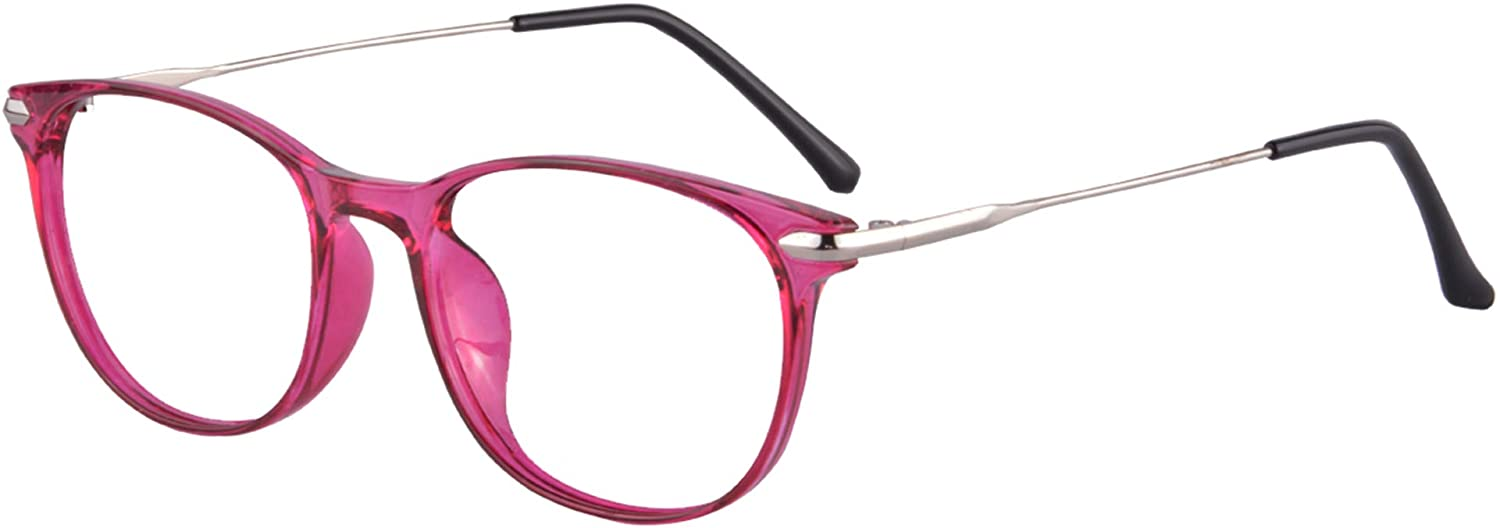 UOOUOO Womens Computer Glasses without Degree Anti-blue Light Clear Lens Filter Harmful Rays-T6511