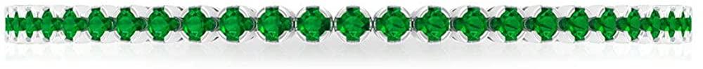 5.88 Ct Lab Created Emerald Gold Bracelet, Unique Wedding Anniversary Bracelet, Certified Gemstone Bridesmaid Bracelet, Classic Women Tennis Bracelet