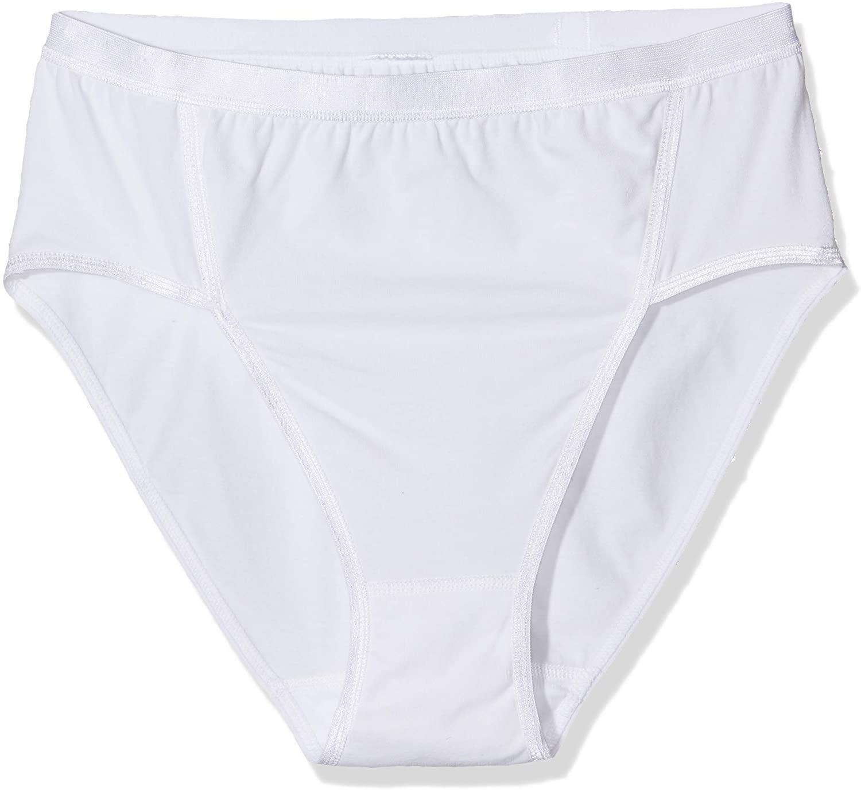 Ulla Popken Women's Plus Size 2 Pack Stretch Cotton Jazz Panties 711214