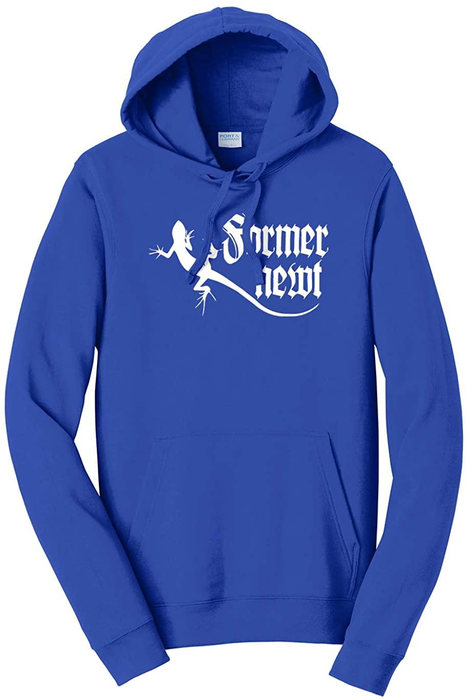 Tenacitee Unisex Former Newt Hooded Sweatshirt