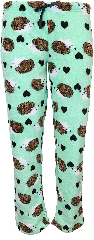 em & alfie Junior's Plus Size Fuzzy Plush Pajama Pants