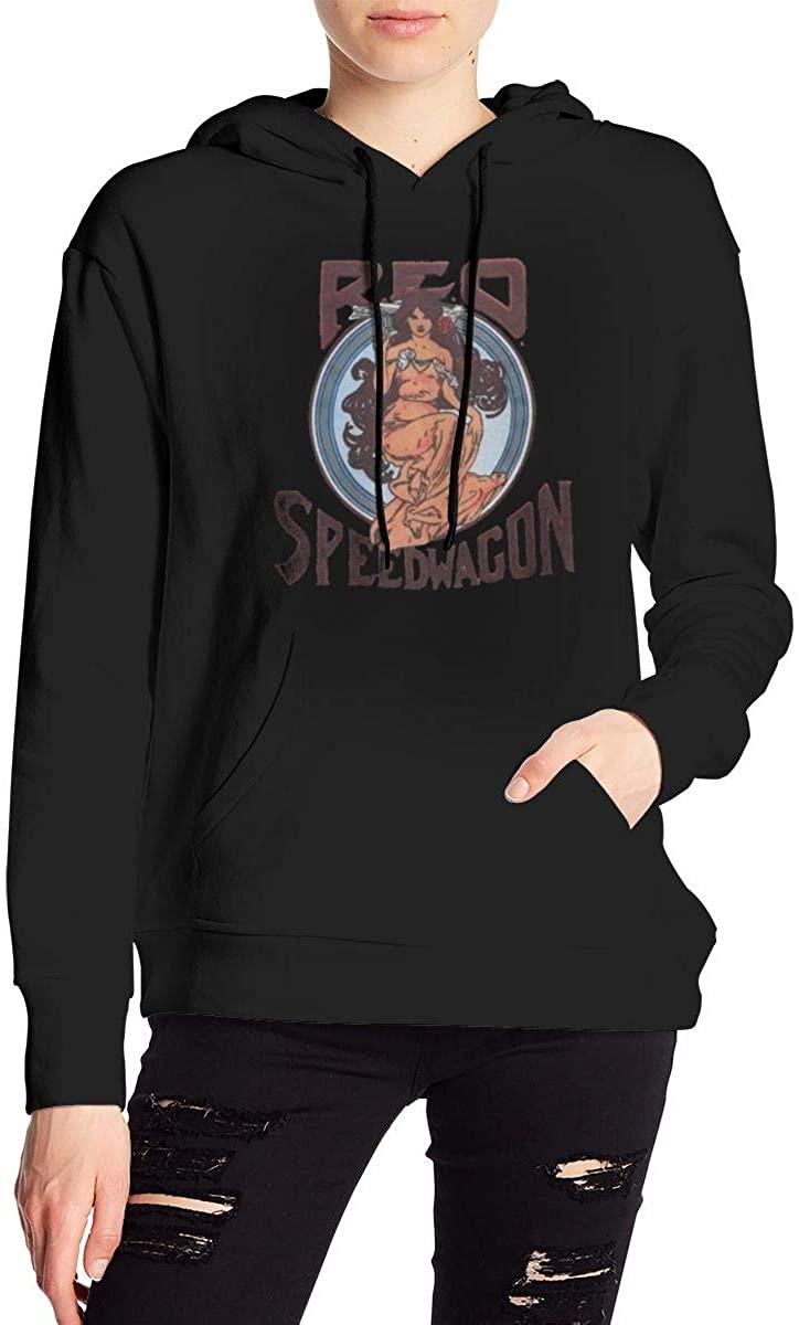 AP.Room Ladies Hooded REO Speedwagon Sweatshirt Cute Teen Girl Hoodie Casual Pullover
