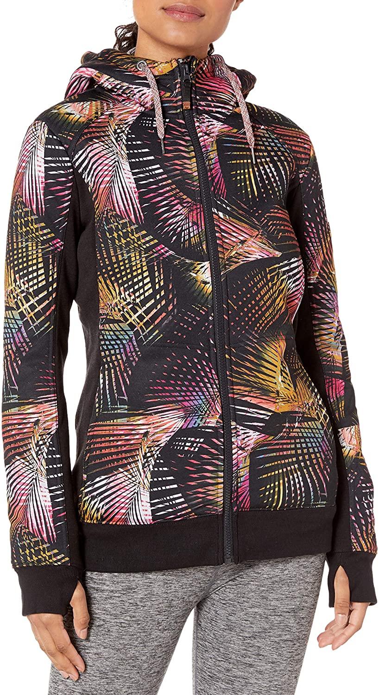 Roxy Womens Roxy Frost Technical Zip-Up Hoodie For Women Erjft03969