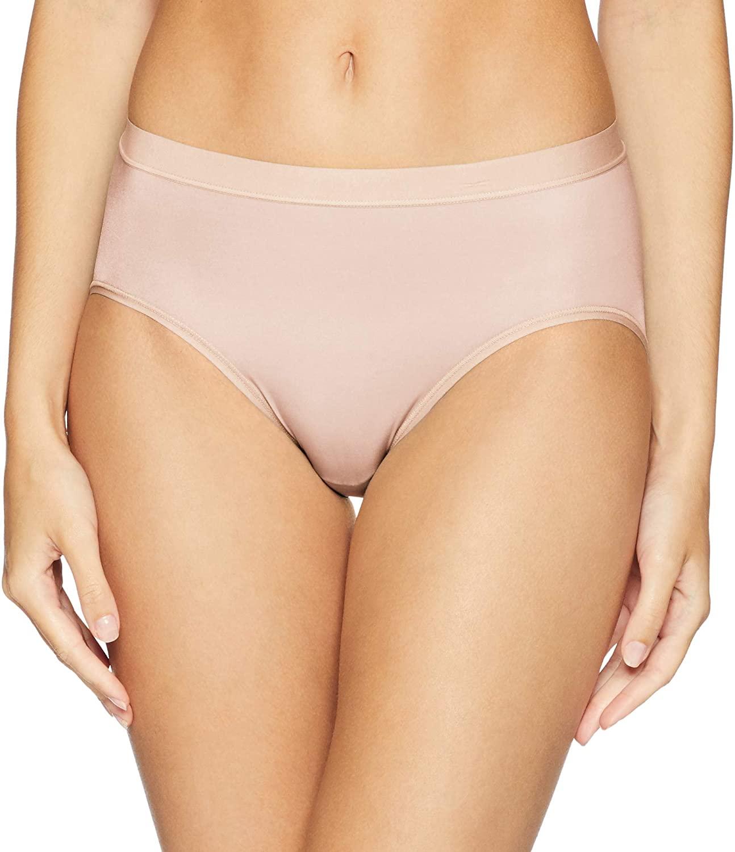 Wacoal Women's Flawless Comfort Hi Cut Brief Panty