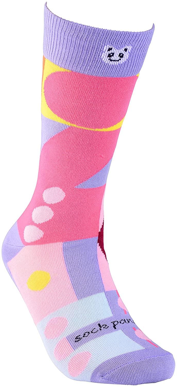 Geometric Patterned Socks for Women from the Sock Panda