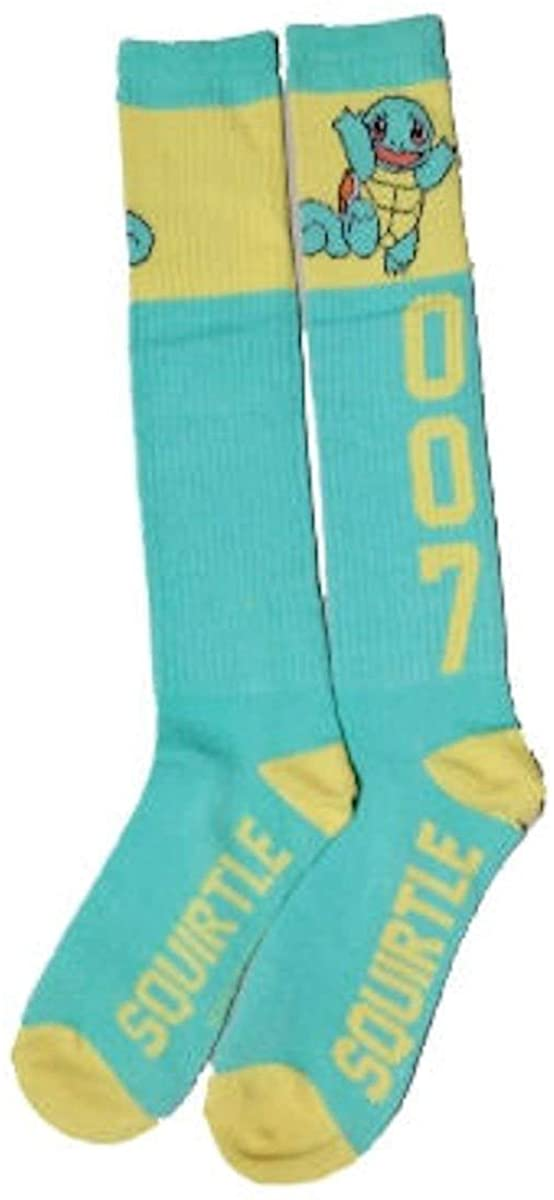 Pokemon Squirtle Women's Knee High Socks, 5-10