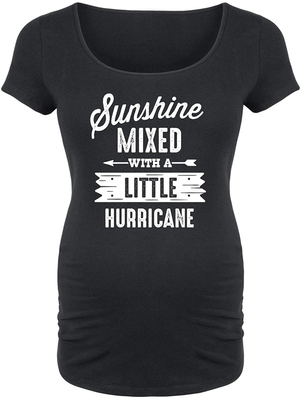 Sunshine Mixed Hurricane - Maternity Scoop Neck Tee