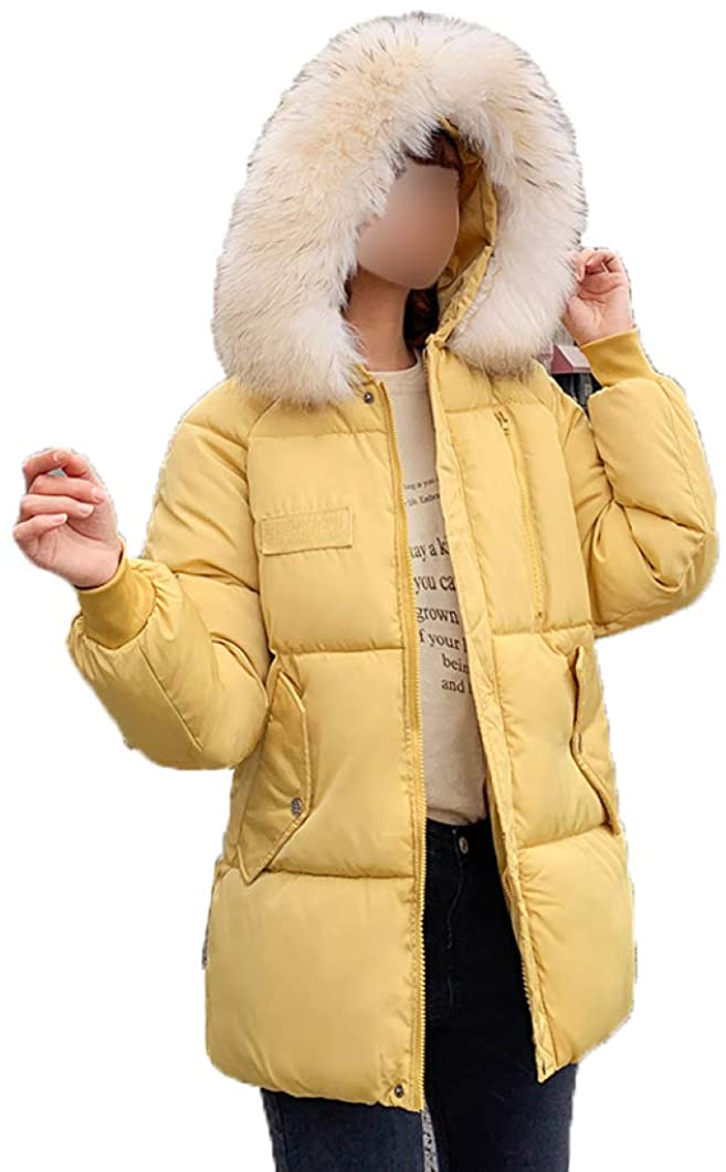 HiiWorld Winter Korean Version of Cotton Jacket Women Short Hooded Jacket Small Cotton Jacket Ladies Loose Down Jacket