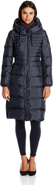 Fleet Street Ltd. Womens Long Maxi Down Coat