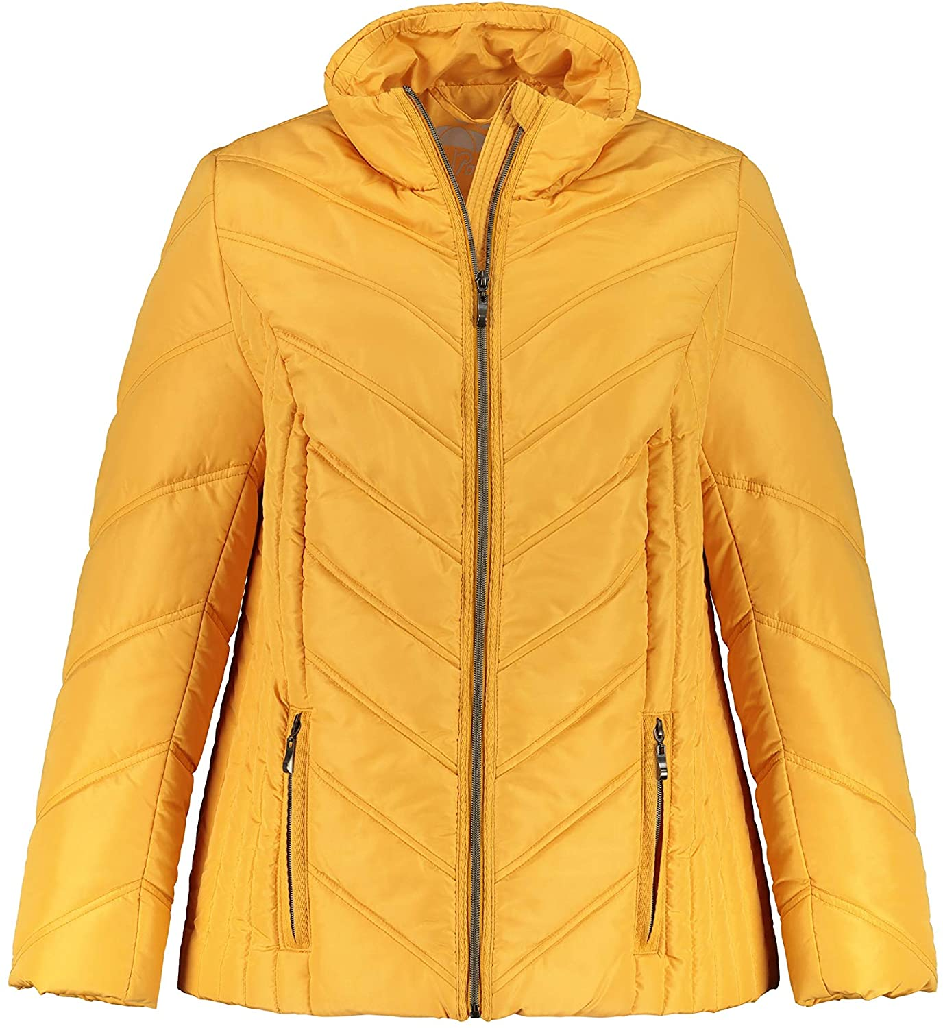 Ulla Popken Womens Plus Size Eco Bionic-Finish Quilted Jacket 749489