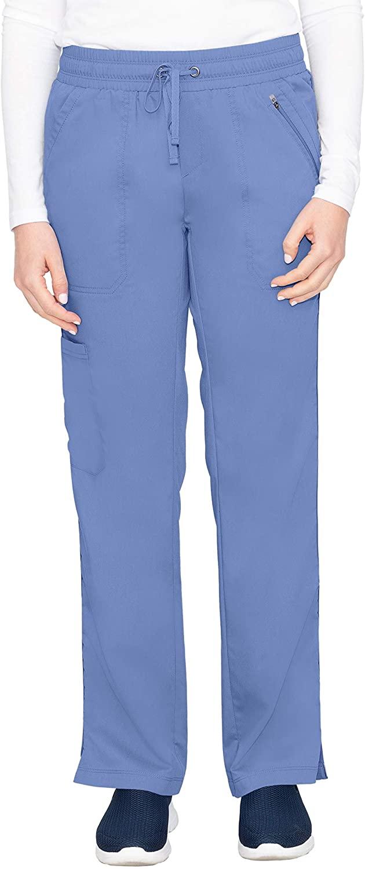 healing hands Purple Label Women's Tanya 9139 Drawstring Pant Ceil Blue- Medium