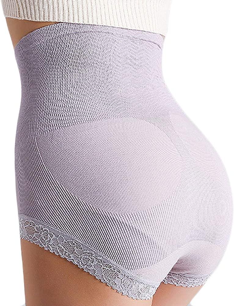 HaloYIYI Women's High Waist Shapewear Butt Lifter Underwear Tummy Control Panty