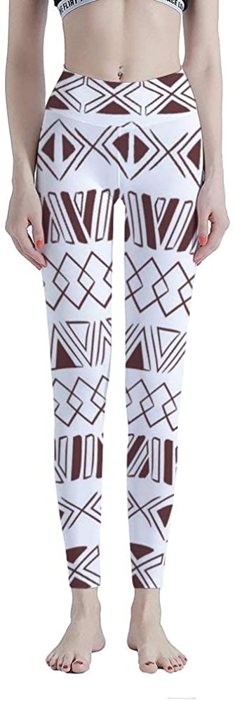 High Waisted Leggings for Women, Aztec Tummy Control Workout Yoga Pants