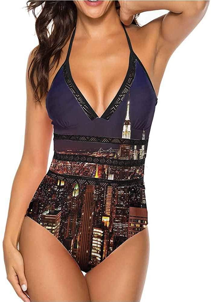 Honeymoon Bikini Manhattan Skyline Brooklyn Great on All Body Types