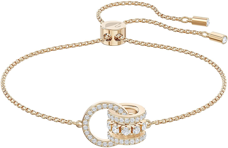 SWAROVSKI Further 5501092 Women's Bracelet White Rose Gold Tone