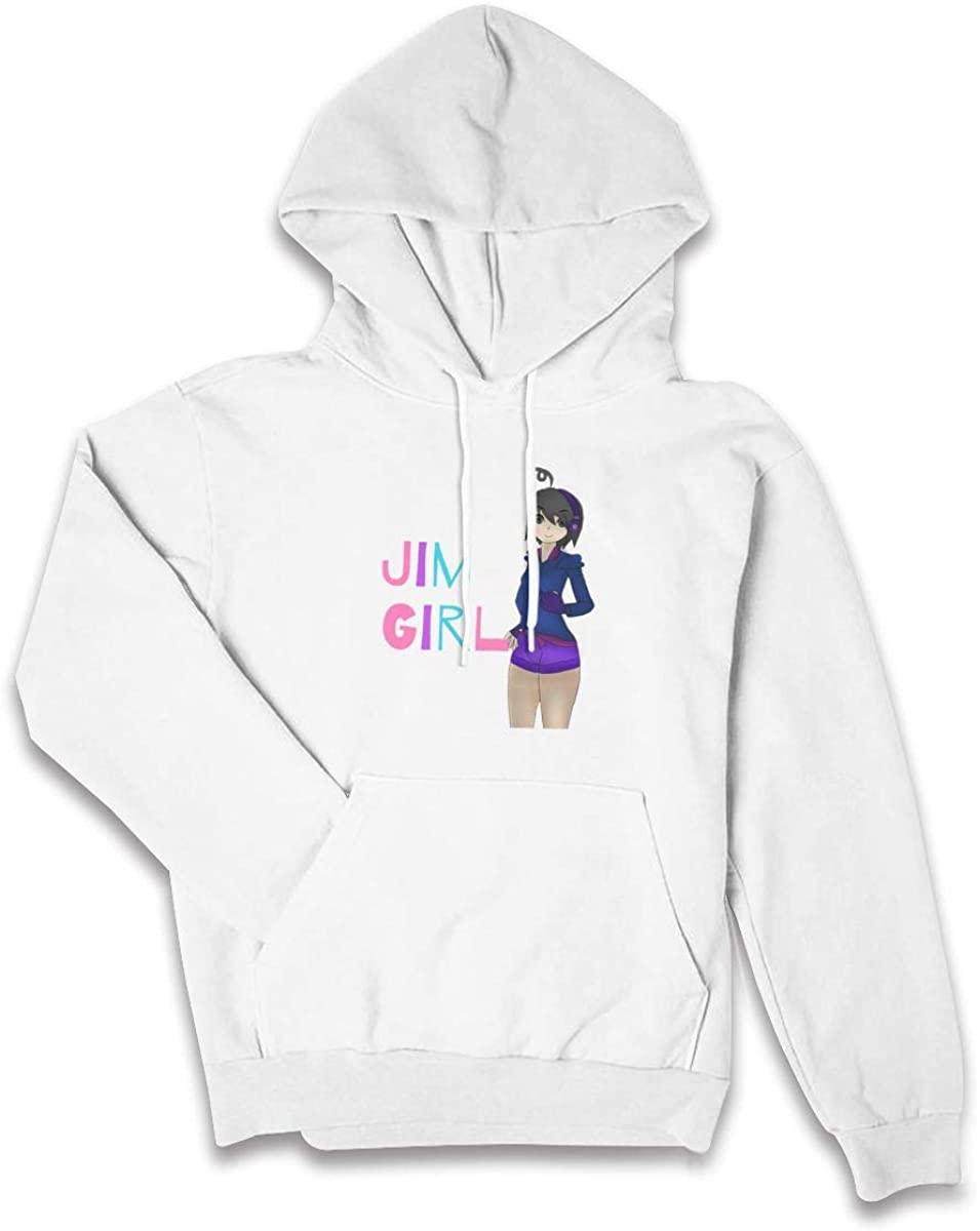 AP.Room Itsfunneh Women Casual Hoodie Pattern Long Sleeve Hooded Pullover Pocket Sweatshirt
