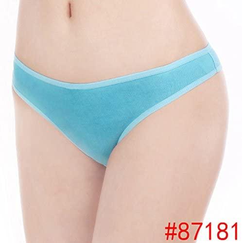 YeahDel Ms. Sexy Hipster Underwear t Pants Underwear Women's Blue Lake g-String,XL Code