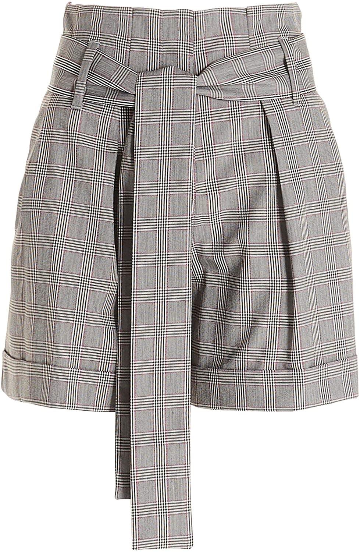Liu Jo Luxury Fashion Woman WA0226T4144U9616 Grey Polyester Shorts | Spring Summer 20