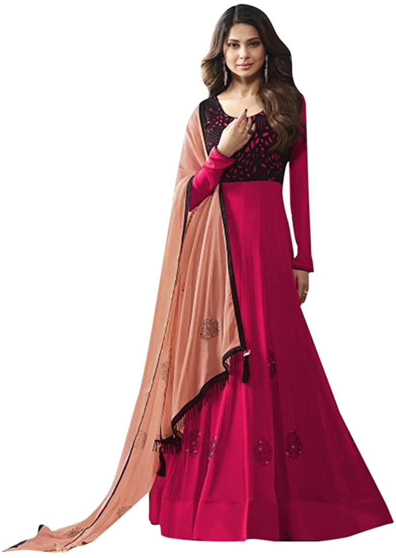 Designer Bollywood Collection Women Floor Length Anarkali Salwar Suit Custom to Measure Indian Ethnic Bridal Wedding Ceremony Muslim Eid 2650 5