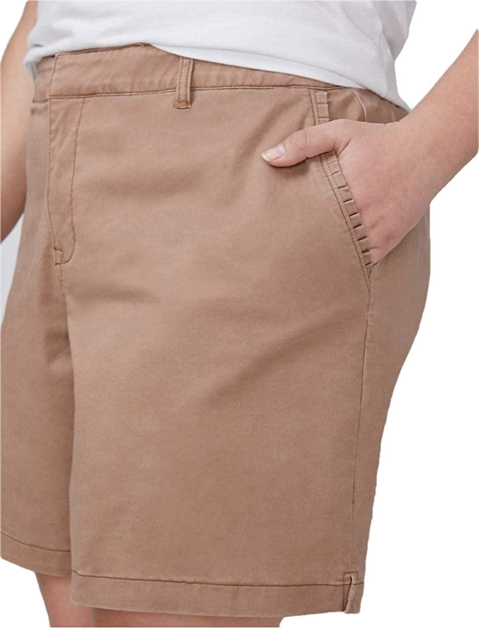 Lane Bryant Brown Girlfriend Shorts