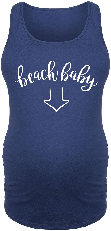 Beach Baby Arrow - Maternity Tank