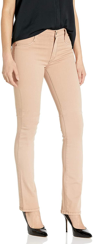 James Jeans Women's Hunter High Rise Straight Leg Jean in Desert Khaki