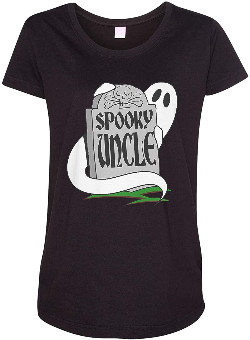 Tenacitee Ladies Spooky Uncle Maternity Shirt