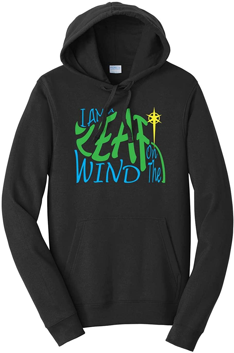 Tenacitee Unisex I am a Leaf on The Wind Hooded Sweatshirt