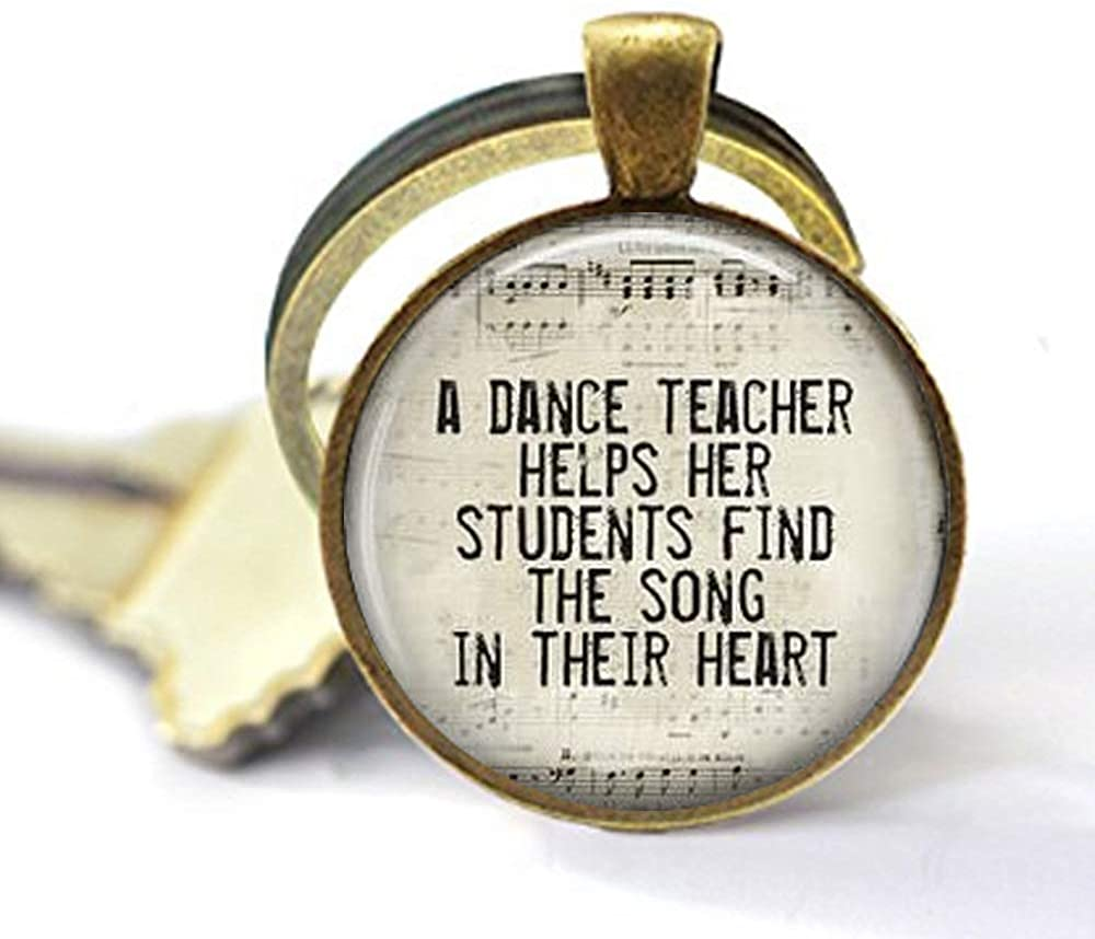 asd Dance Teacher Pendant, Dance Teacher Gift, Dance Gift, Dance Recital Key Chain